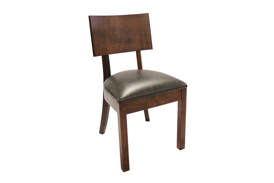 Brown Maple Dining Chair