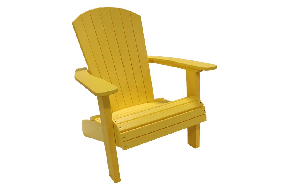 Outdoor Adirondack Chair - Lemon Yellow