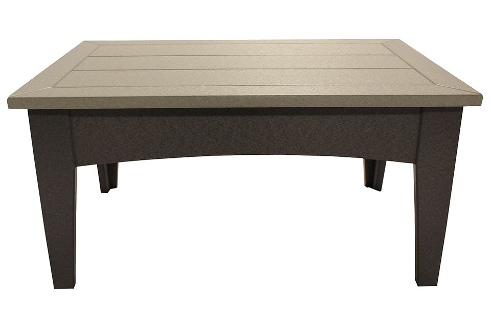Outdoor Coffee Table- Light Grey/Dark Grey