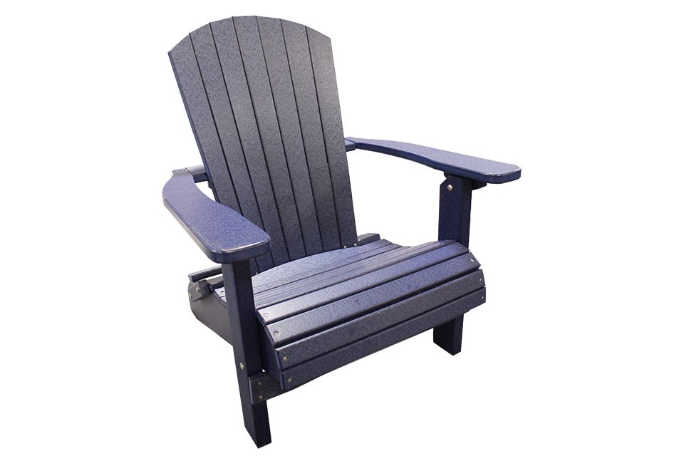 Outdoor Folding Adirondack Chair - Patriot Blue