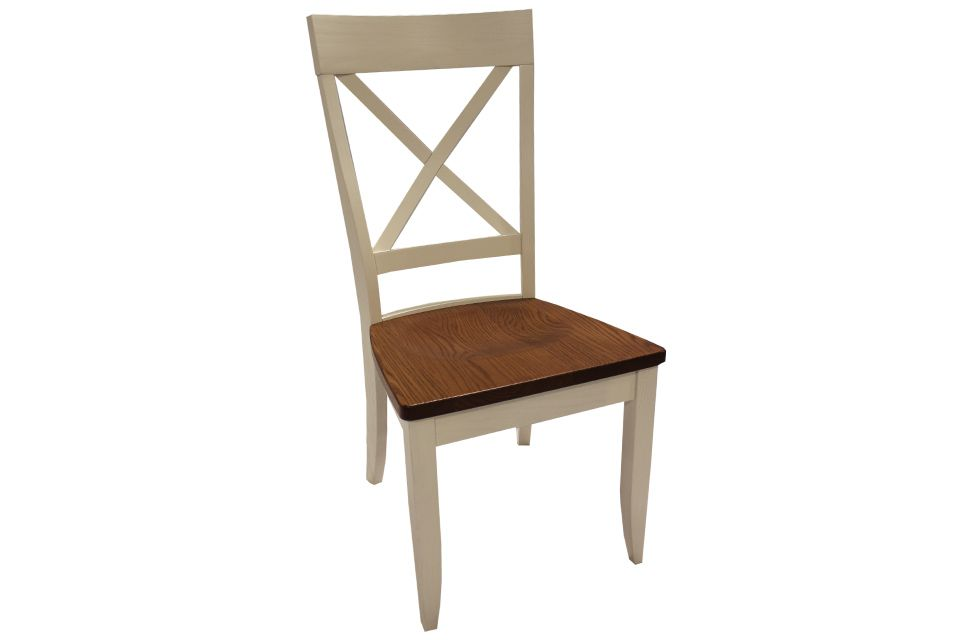 Oak Two Tone Dining Chair