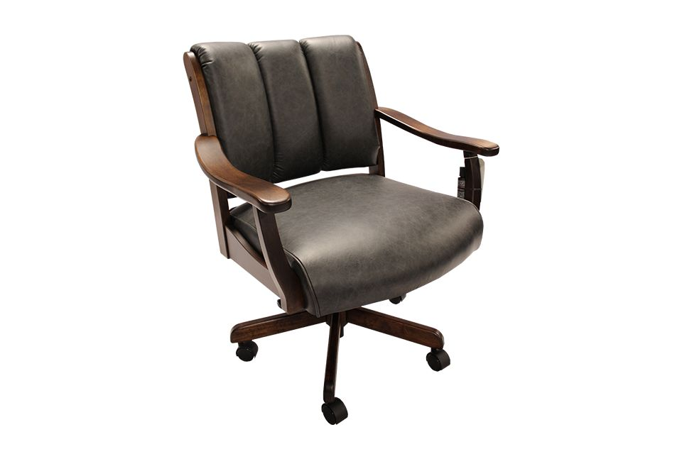 Brown Maple Office Chair