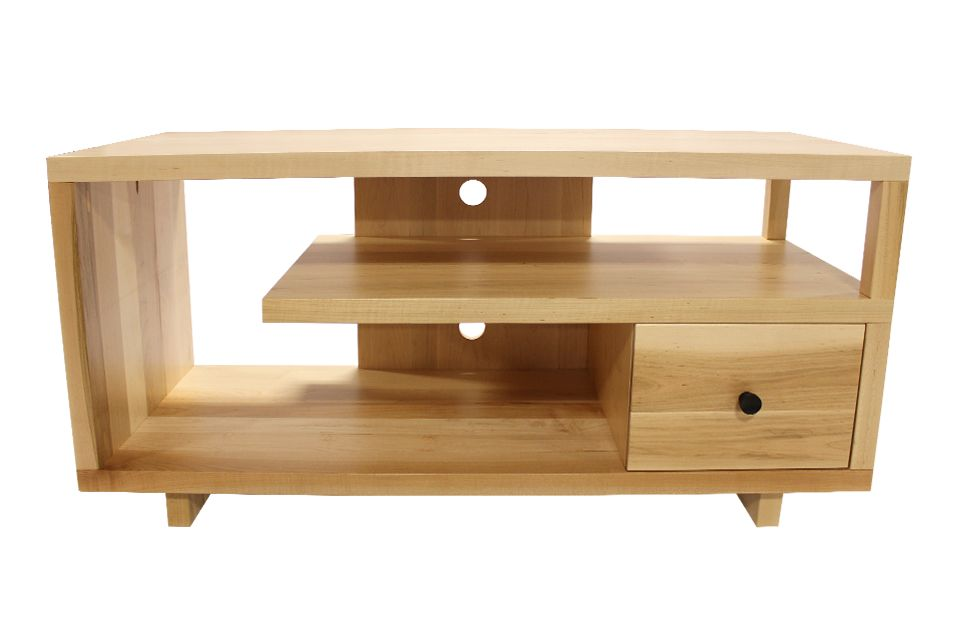 Brown Maple TV Stand