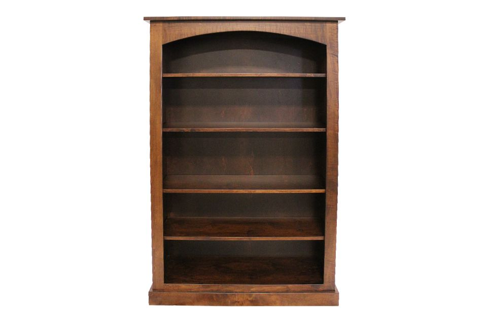 Brown Maple Bookcase