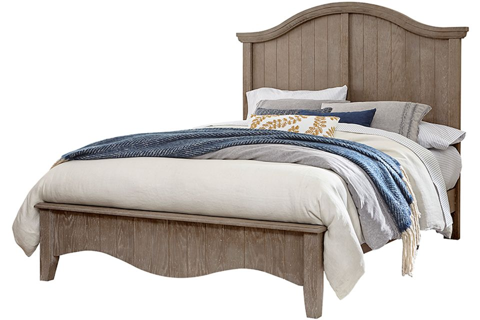Vaughan Bassett Casual Retreat Queen Arch Bed