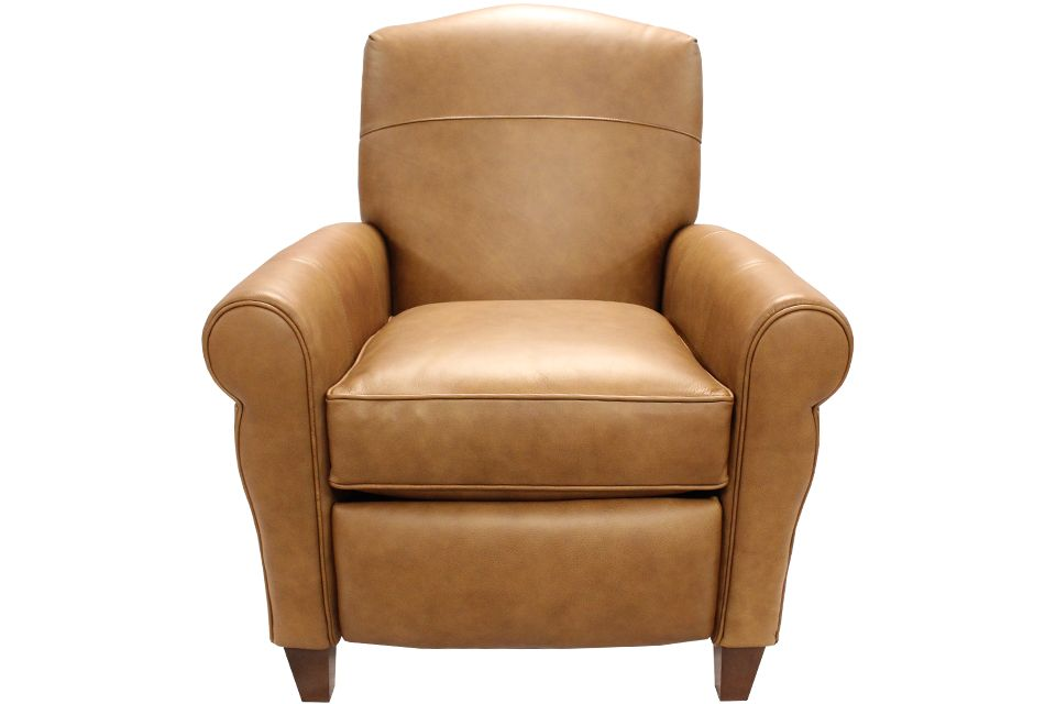 Smith Brothers Leather Power Recliner