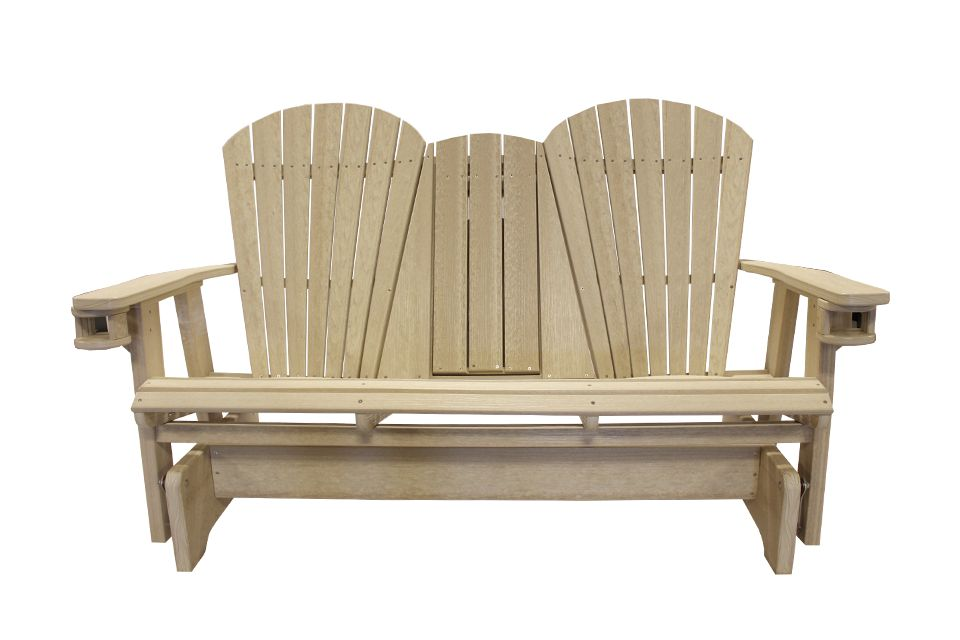 Outdoor Settee Glider - Birchwood