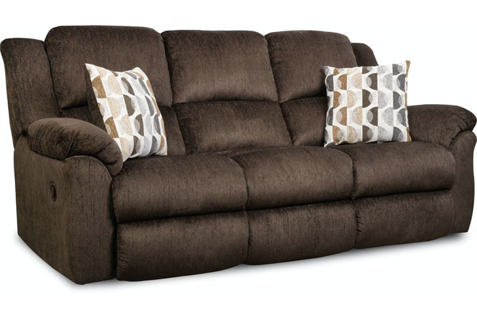 Homestretch Upholstered Reclining Sofa