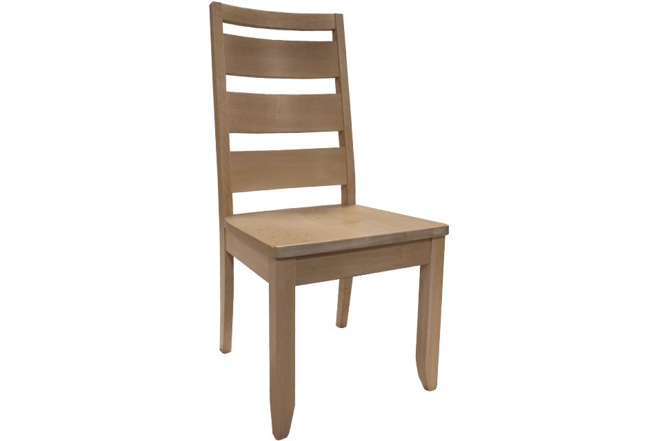 Quartersawn Limed Oak Side Chair