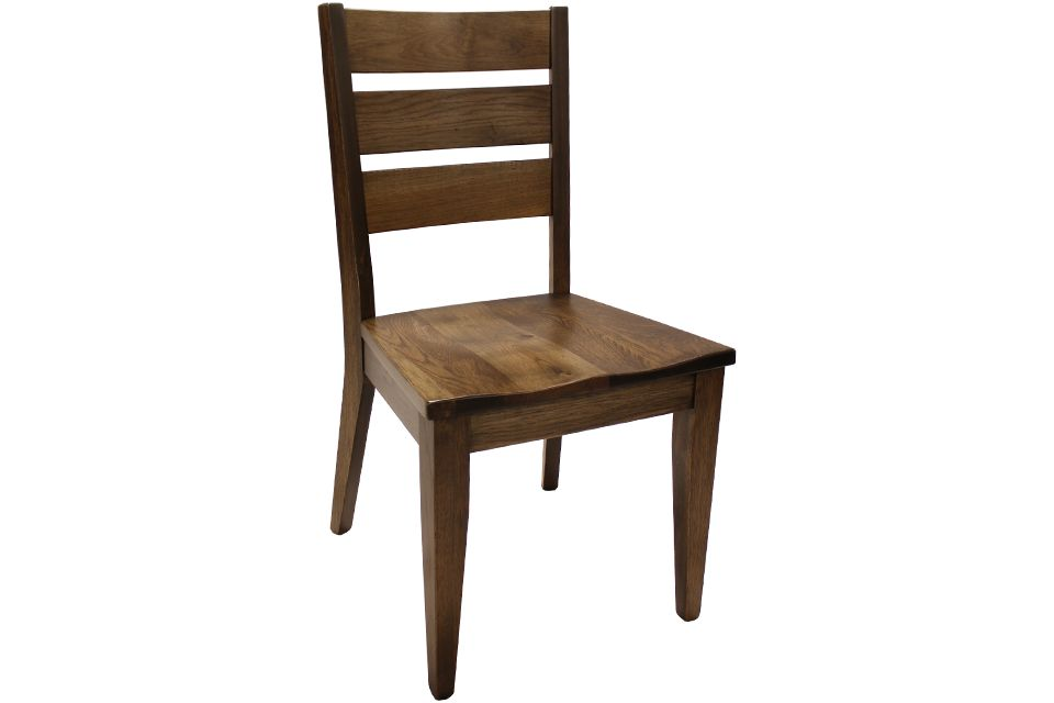Rustic Hickory Side Chair