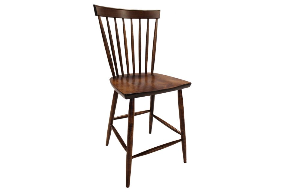 Brown Maple Counter Chair