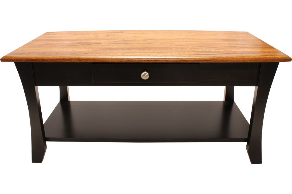 Elm and Brown Maple Coffee Table