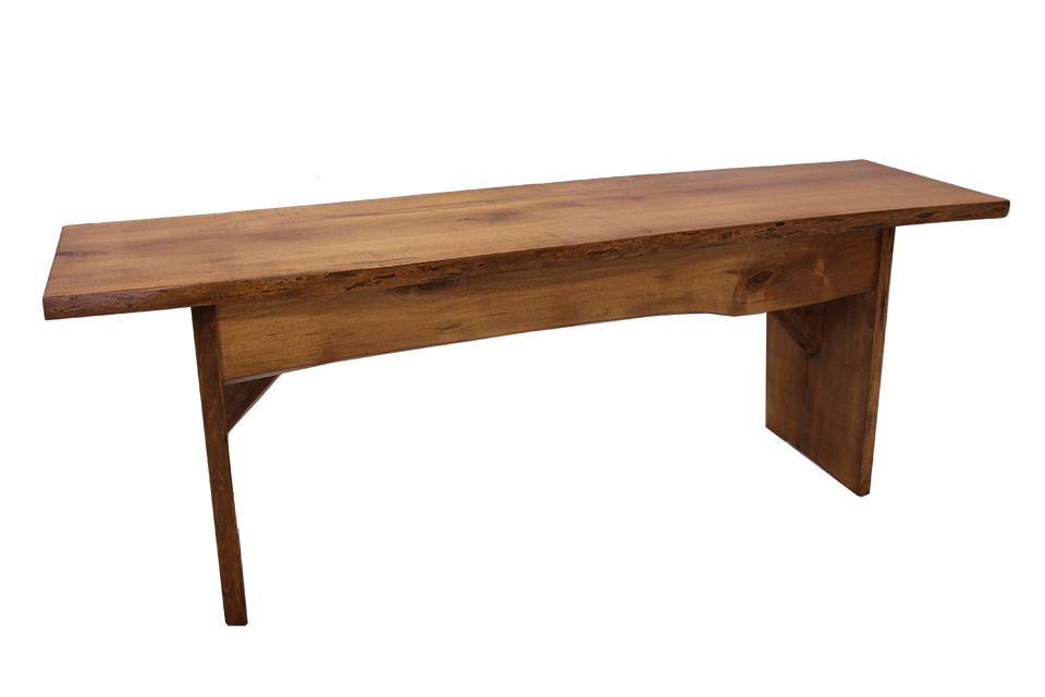 Brown Maple Bench