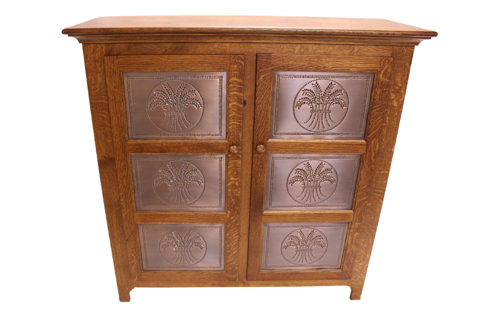 Quartersawn Oak Pie Safe