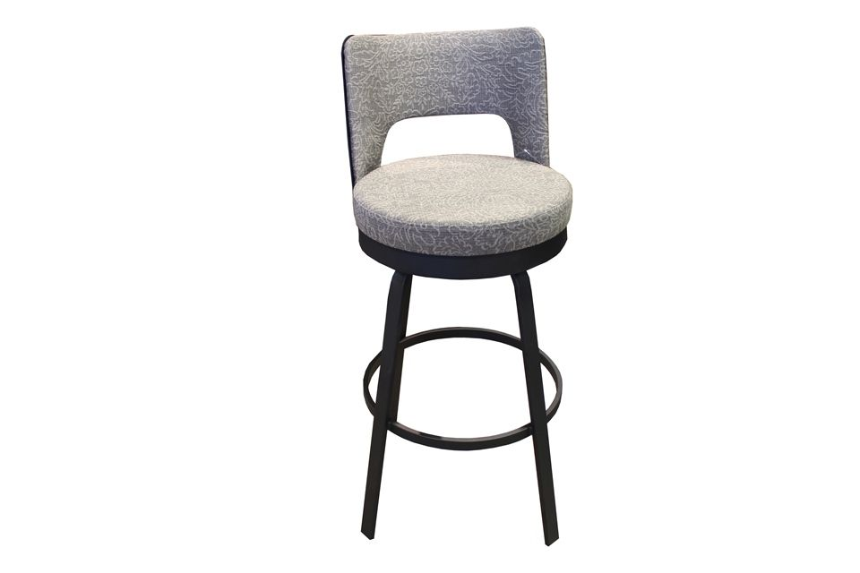 Amisco Bar Height Swivel Stool