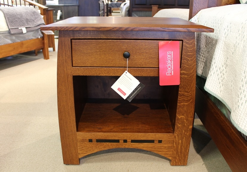 Rustic Quartersawn Oak Nightstand