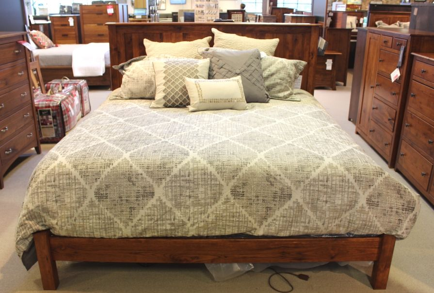 Rustic Hickory Bed