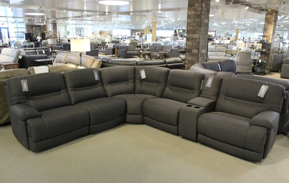 Violino Power Reclining Sectional