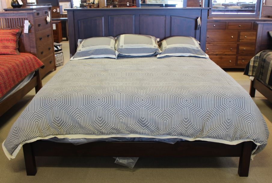 Brown Maple King Bed