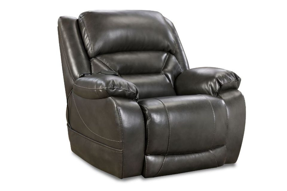 Homestretch Leather Power Recliner