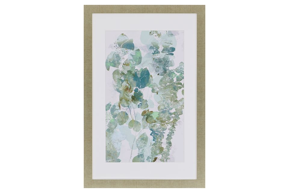 Water Eucalyptus II Framed Wall Art
