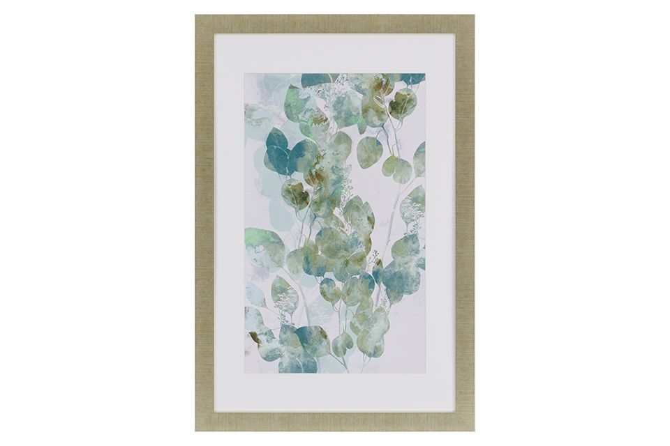 Watercolor Eucalyptus Wall Art