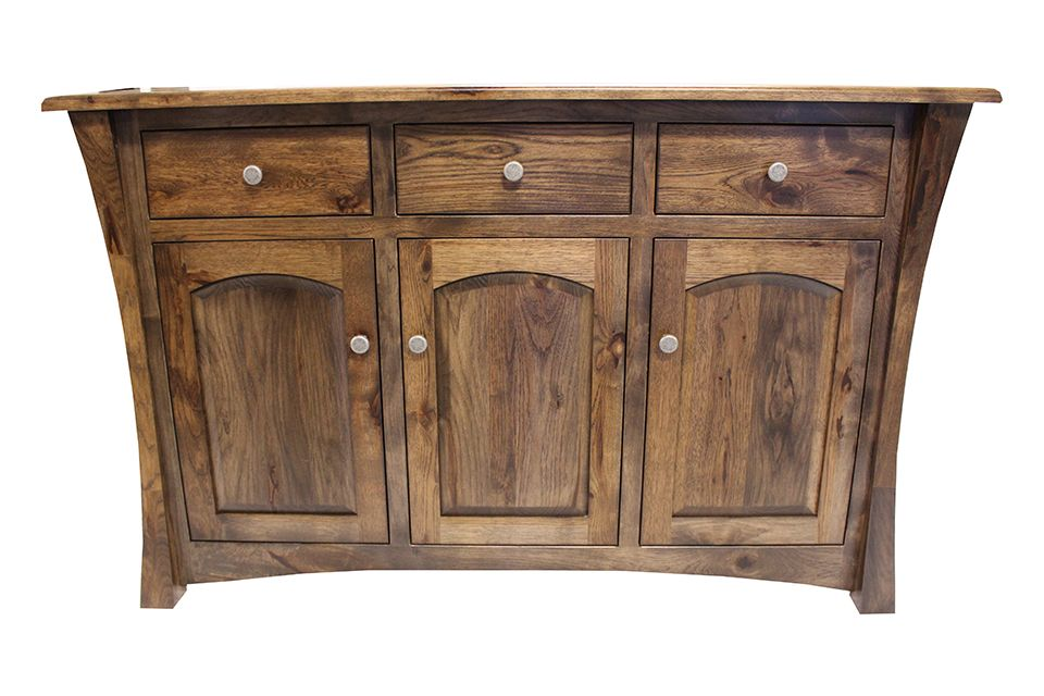 Rustic Hickory Buffet