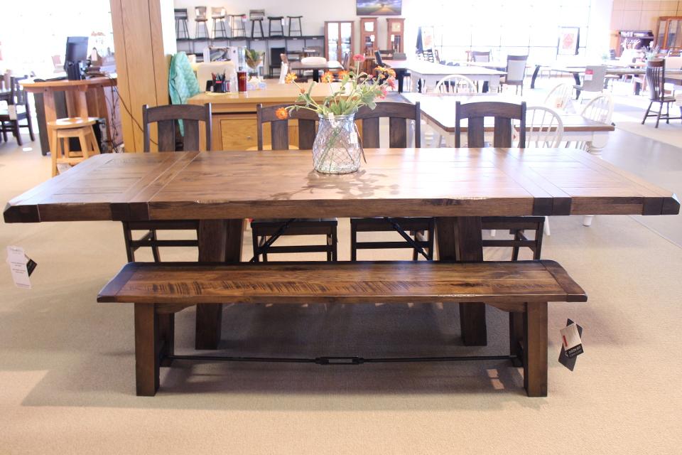 Brown Maple Dining Table