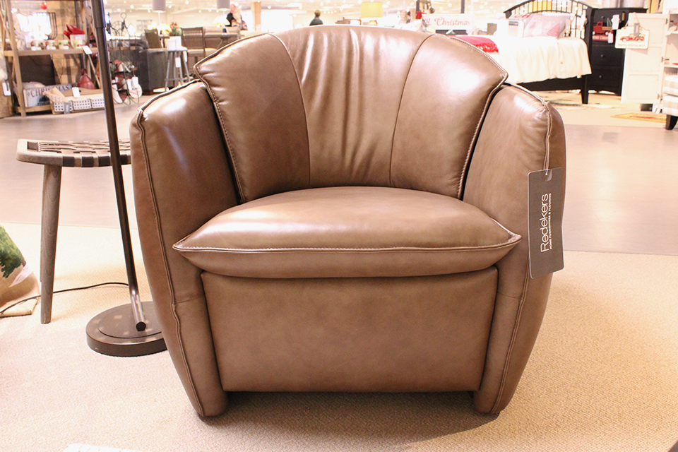 Violino Leather Accent Chair