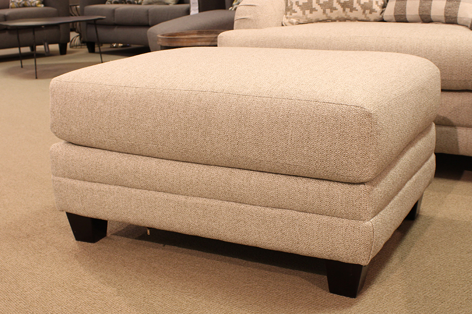 Fusion Upholstered Ottoman