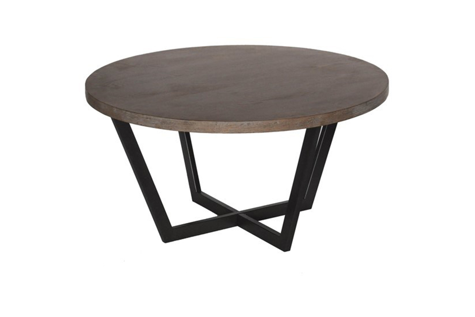 Tremont Slanted Round Cocktail Table