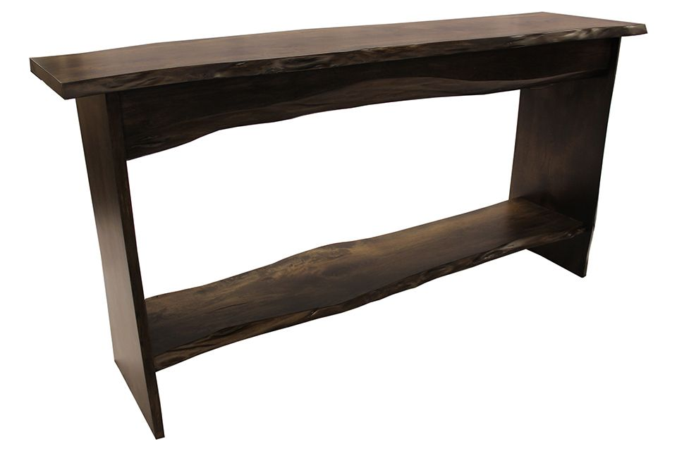 Hickory Live Edge Sofa Table 8377 Redekers Furniture - Live Edge Sofa Table