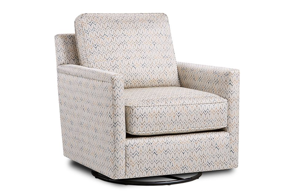 Fusion Upholstered Swivel Glider