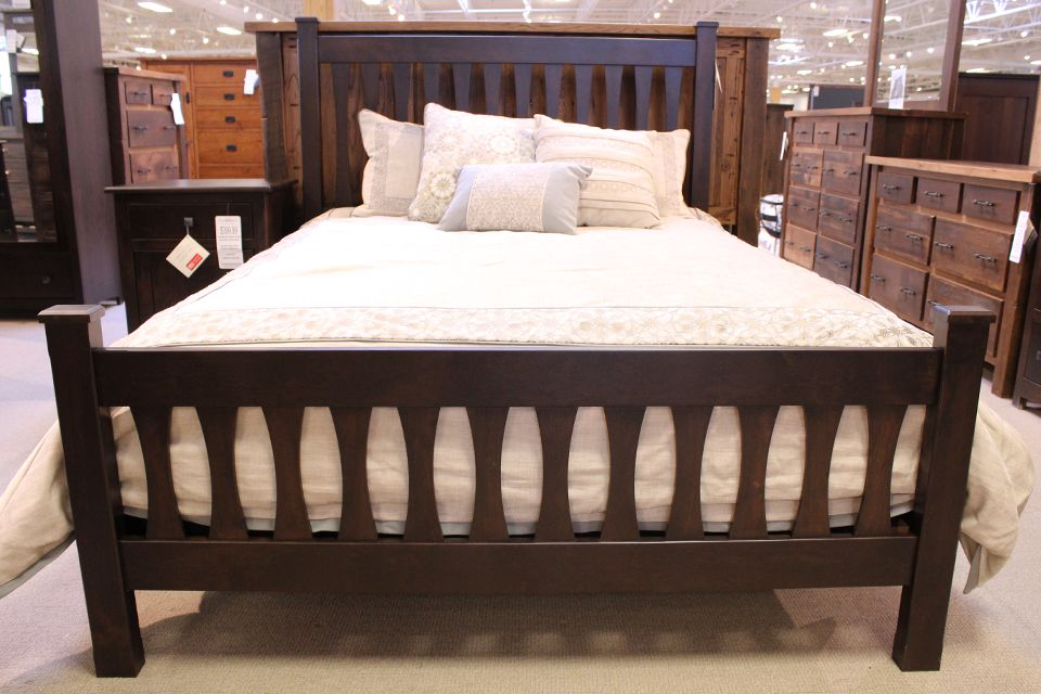 Rustic Cherry Queen Bed