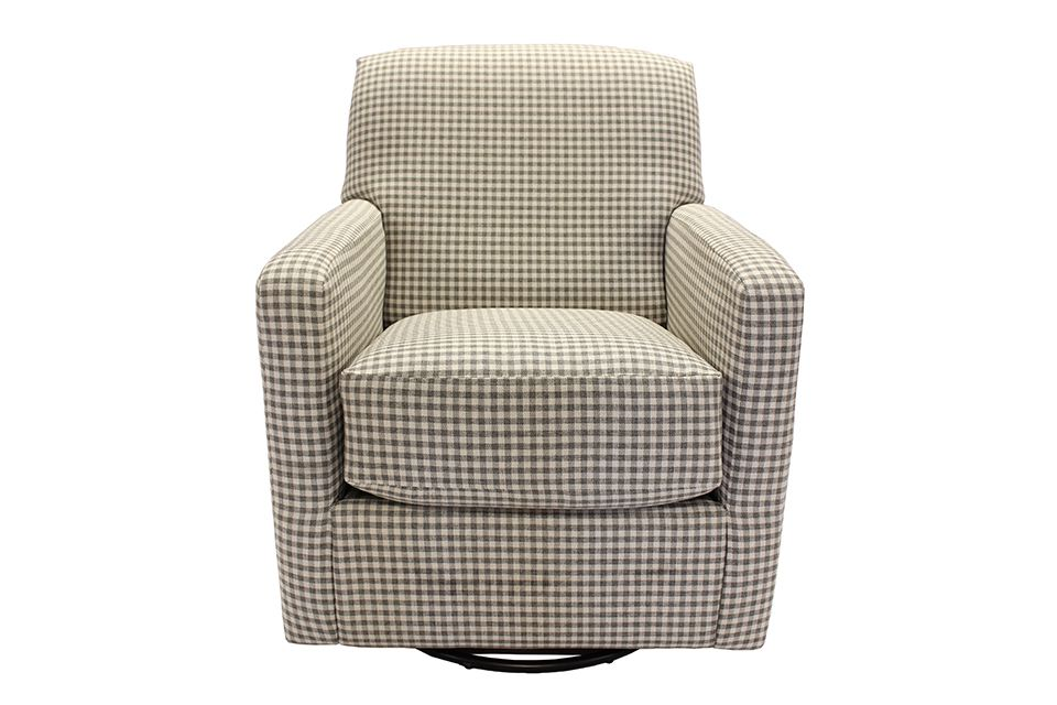 Southern Motion Upholstered Swivel Glider