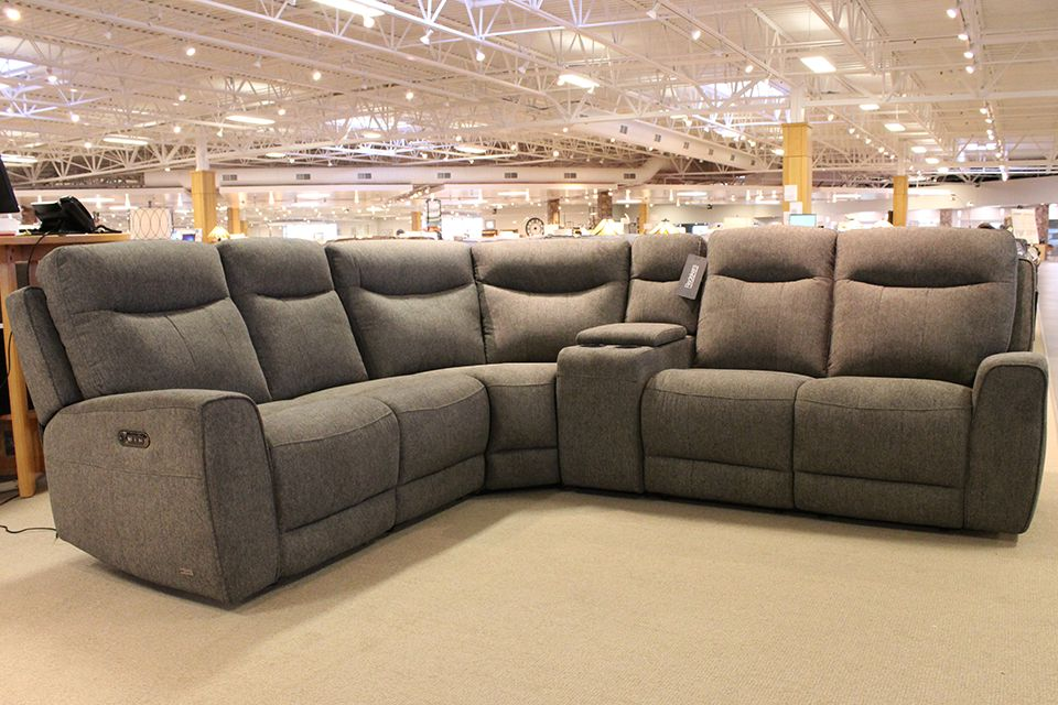 Violino Power Upholstered Sectional