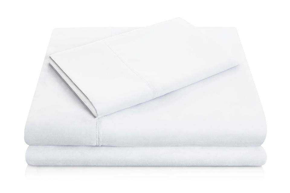 Brushed Microfiber Queen Sheet - White