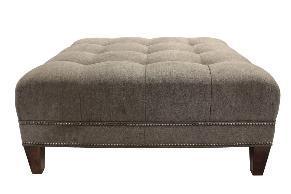 Smith Brothers Upholstered Ottoman