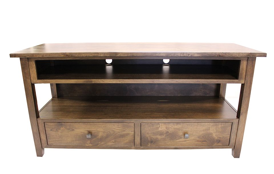 Rustic Hickory Media Console