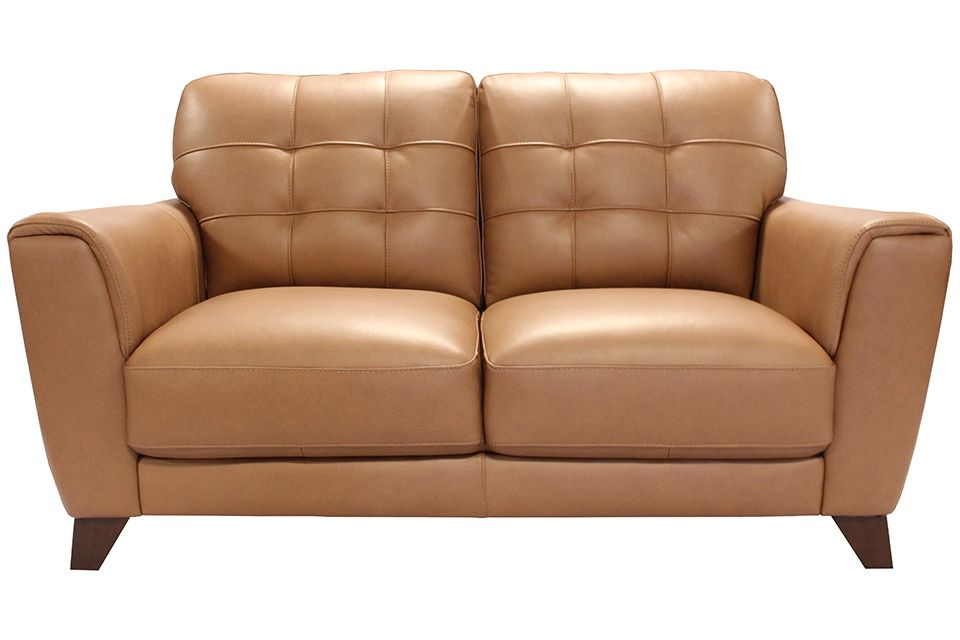 Violino Leather Loveseat