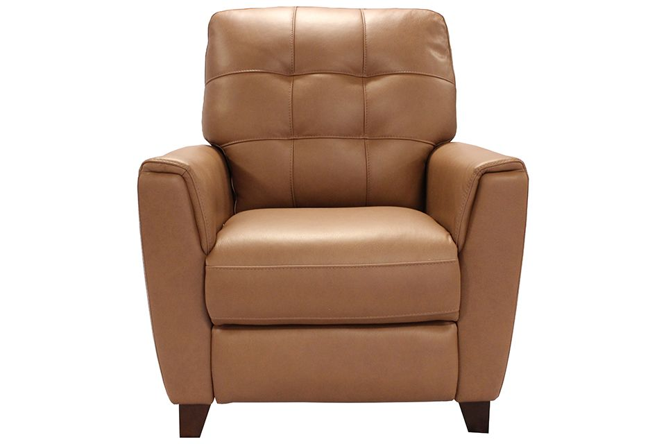 Violino Leather Pushback Recliner