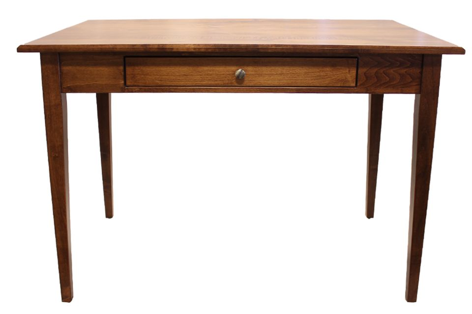 Brown Maple Writing Desk