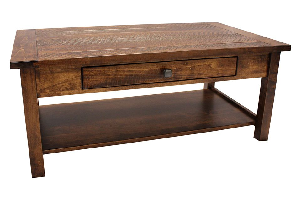 Brown Maple Coffee Table