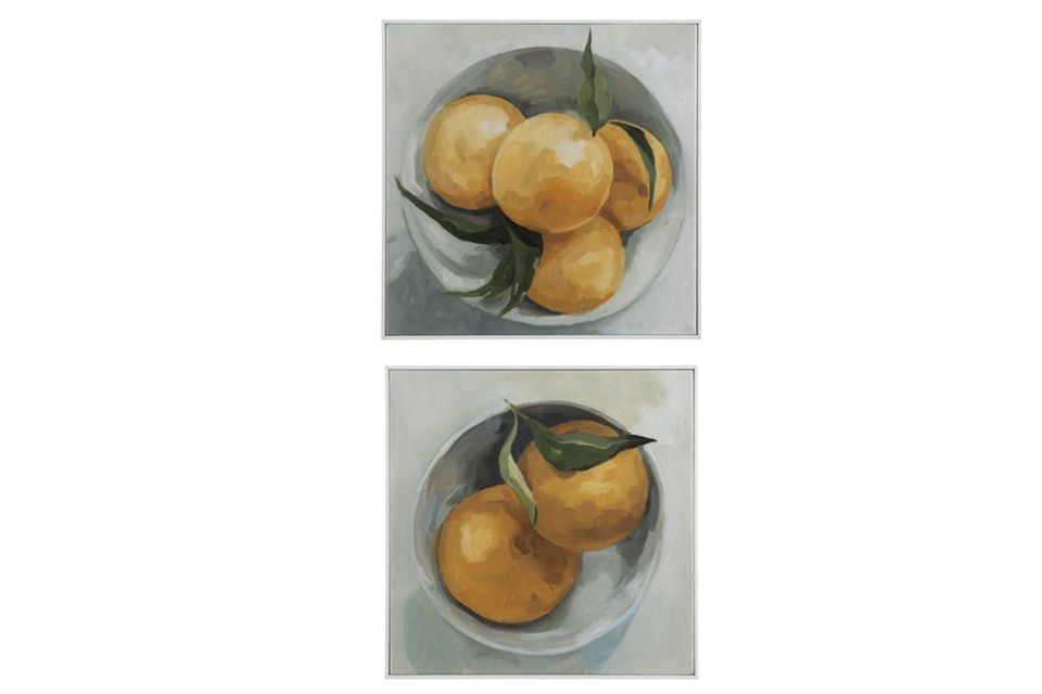 Lemon Wall Decor (Set of 2)