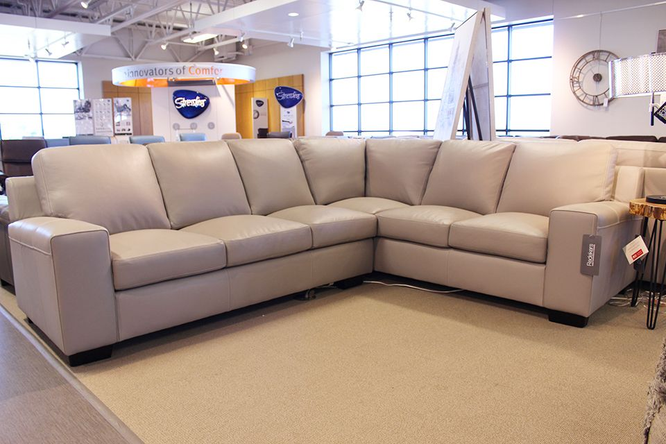 Leather Living Metro Sectional