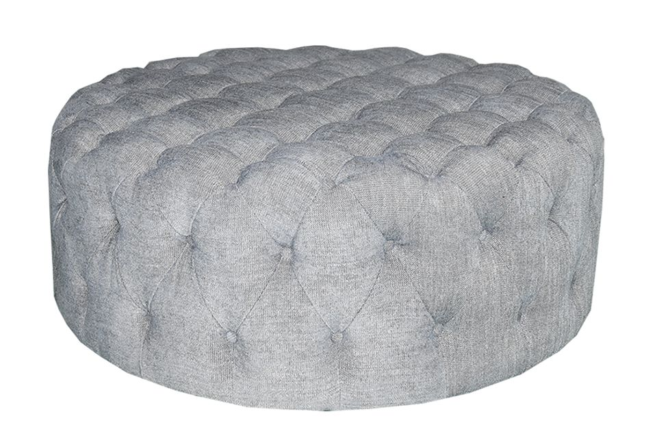 Urban Chic Upholstered Ottoman