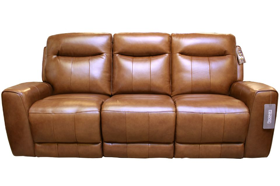 Violino Leather Power Reclining Sofa